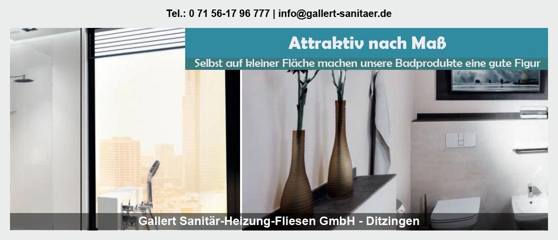 Sanitär Empfingen - Gallert Sanitär-Heizung-Fliesen GmbH: Heizung, Rohrinstallationen