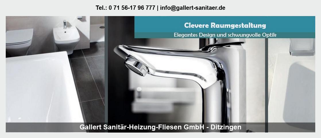 Sanitär für Hechingen - Gallert Sanitär-Heizung-Fliesen GmbH: Heizung, Heizungstausch