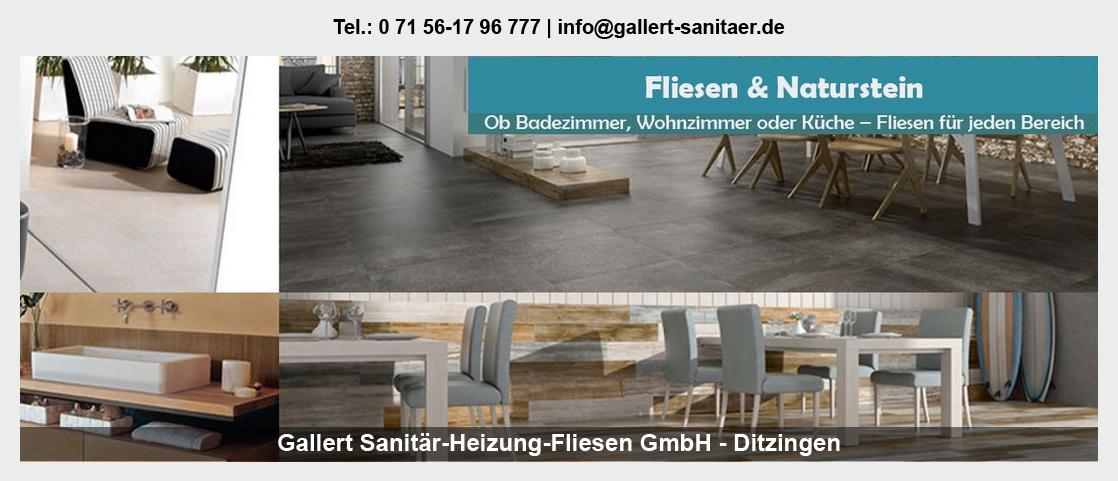 Sanitär für Neuenbürg - Gallert Sanitär-Heizung-Fliesen GmbH: Heizung, Rohrinstallationen